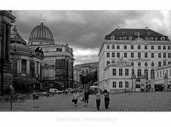 """Sächsische Impressionen """" Dresdner - Stadtansichten """""""