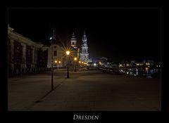 """Sächsische Impressionen """" Dresdner - Stadtansichten, bei Nacht**.... """""""