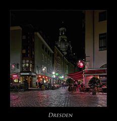 """Sächsische Impressionen """" Dresdner - Stadtansichten, bei Nacht***.... """""""