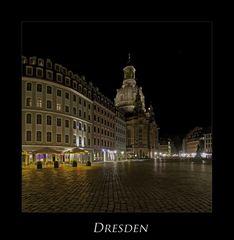 """Sächsische Impressionen """" Dresdner - Stadtansichten, bei Nacht****.... """""""
