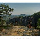 """Sächsische Impressionen """" Elbsandsteingebirge - was für eine Aussicht..."""""""