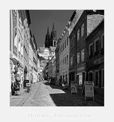 """Sächsische Impressionen """" Meißen - Blick, zum Dom_St. Johannis und St. Donatus... """""""