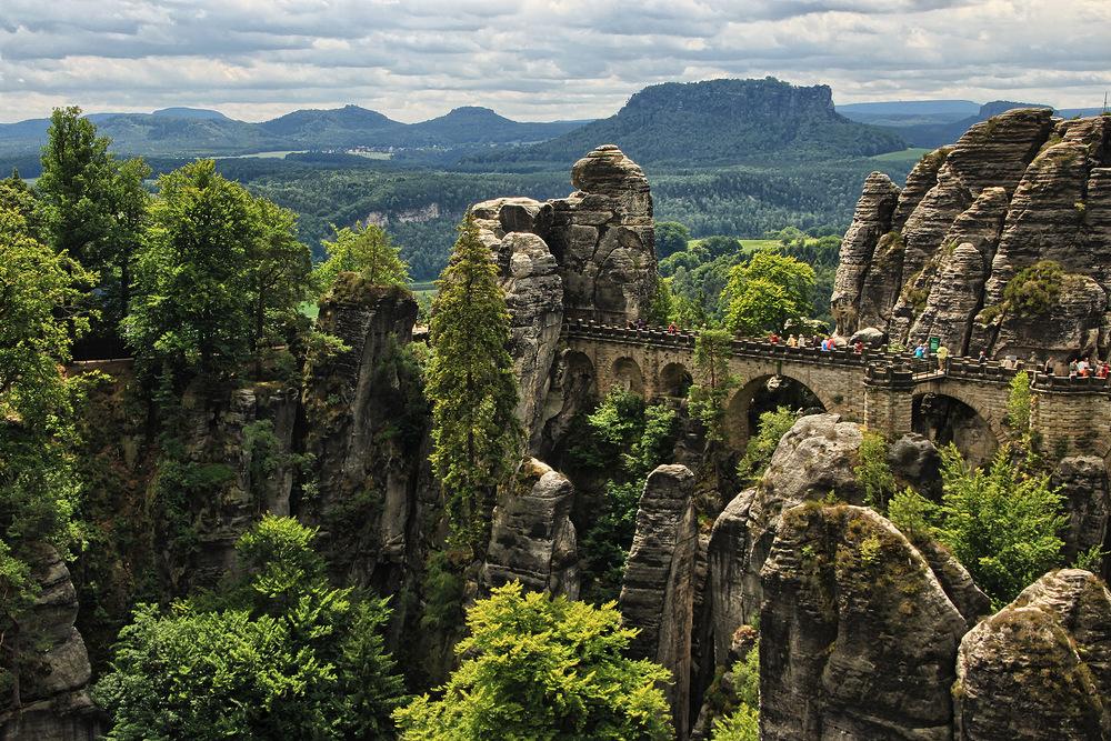 Sächsische Schweiz. (2)