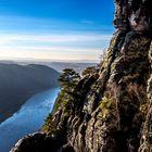 Sächsische Schweiz - Bastei beliebtester Aussichtspunkt im Elbsandsteingebirge