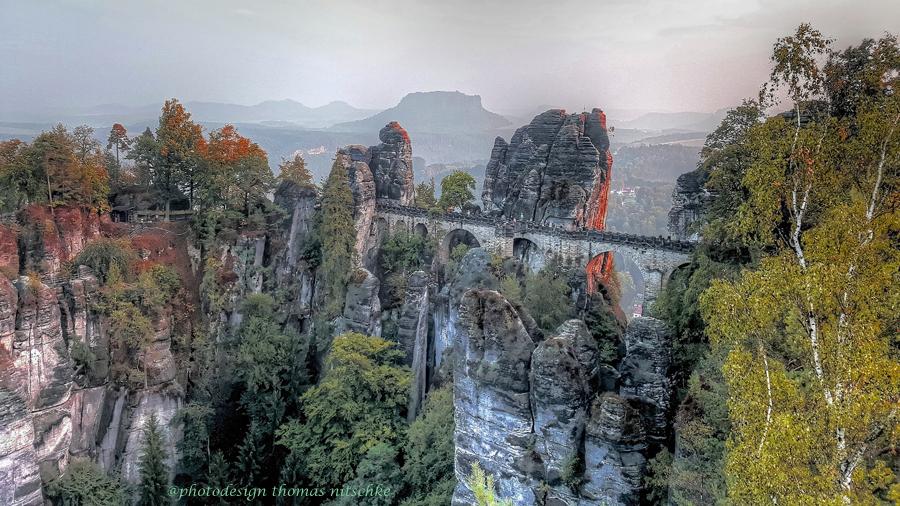 Sächsische Schweiz Basteibrücke
