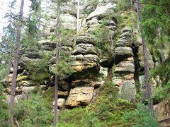 Sächsischer Fels