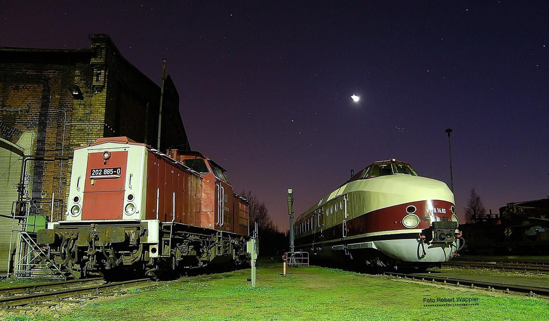 Sächsisches Eisenbahnmuseum Chemnitz / Hilbersdorf