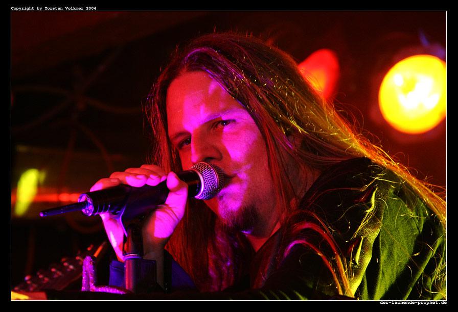 Sänger Alexander Krull von Atrocity