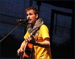 Sänger LuJoTro beim Strassenmusik -festival in LB 2012