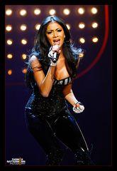 Sängerin Nicole Scherzinger ( The Pussycat Dolls ) Live bei ZDF - Wetten dass...?