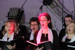 Sängerinnen des Gemischten Chors  Heiligendorf