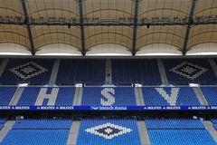 Säuberungsaktion im Hamburger Volksparkstadion