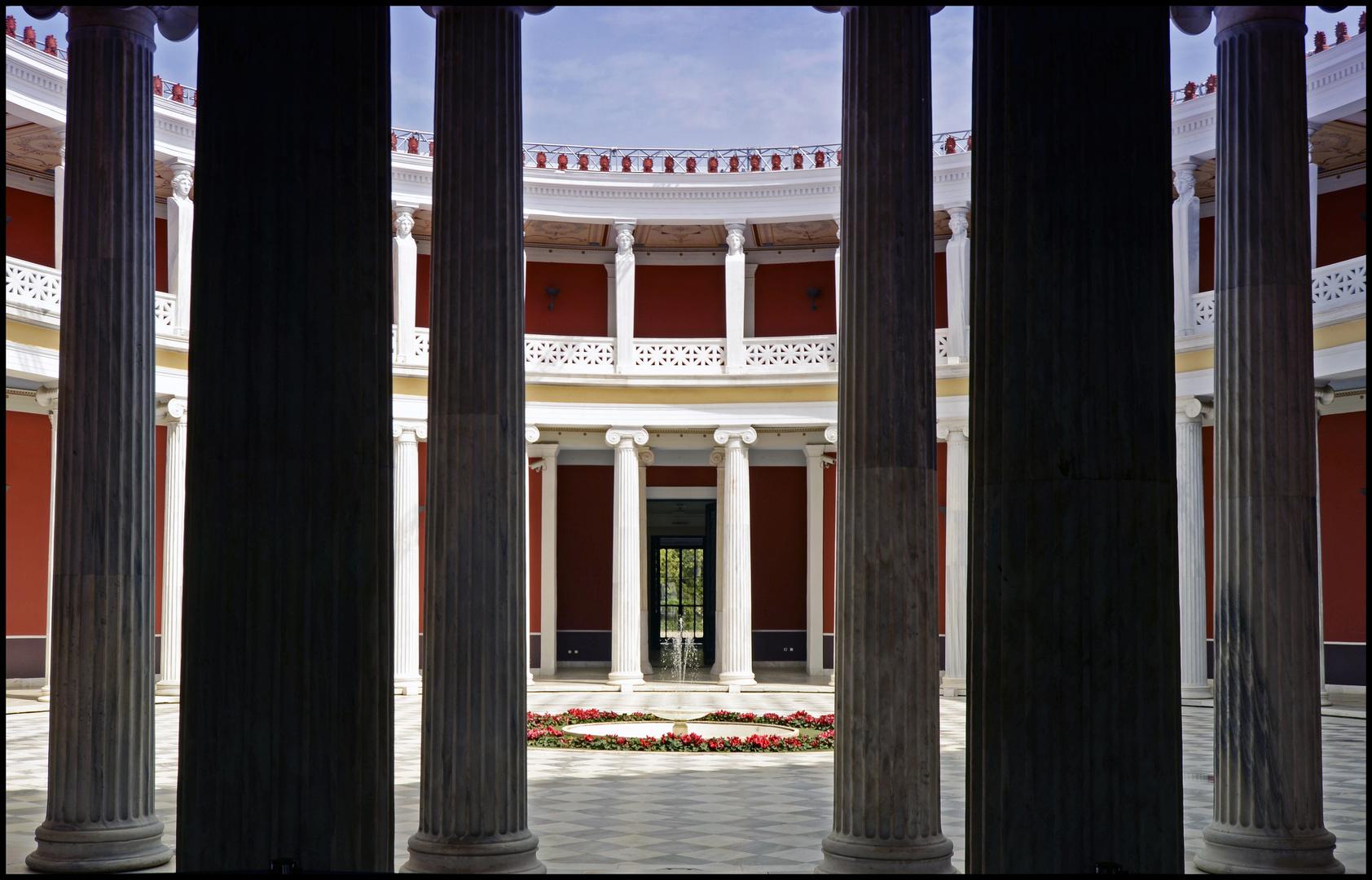 Säulen aus Athen