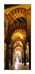 Säulen der Mezquita von Cordoba
