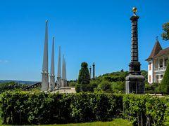 Säulen im Schlosspark