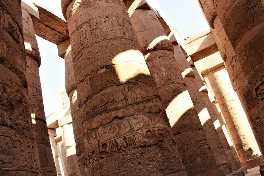 Säulen Karnak Egypt E-Ca-11