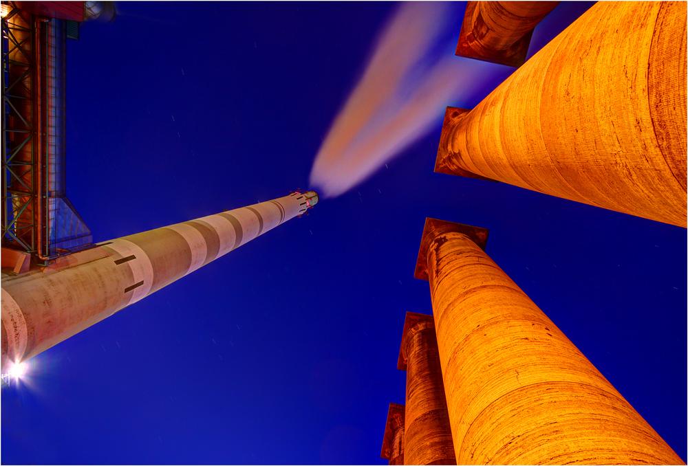 Säulen + Kraftwerk (II)