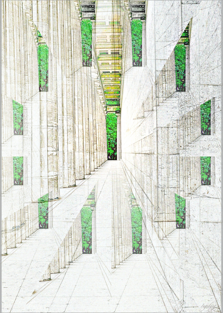 #  Säulengang  #