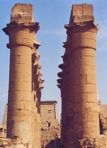 Säulenhalle Luxor
