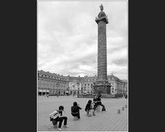 Säulenheiliger mit Nachwuchs