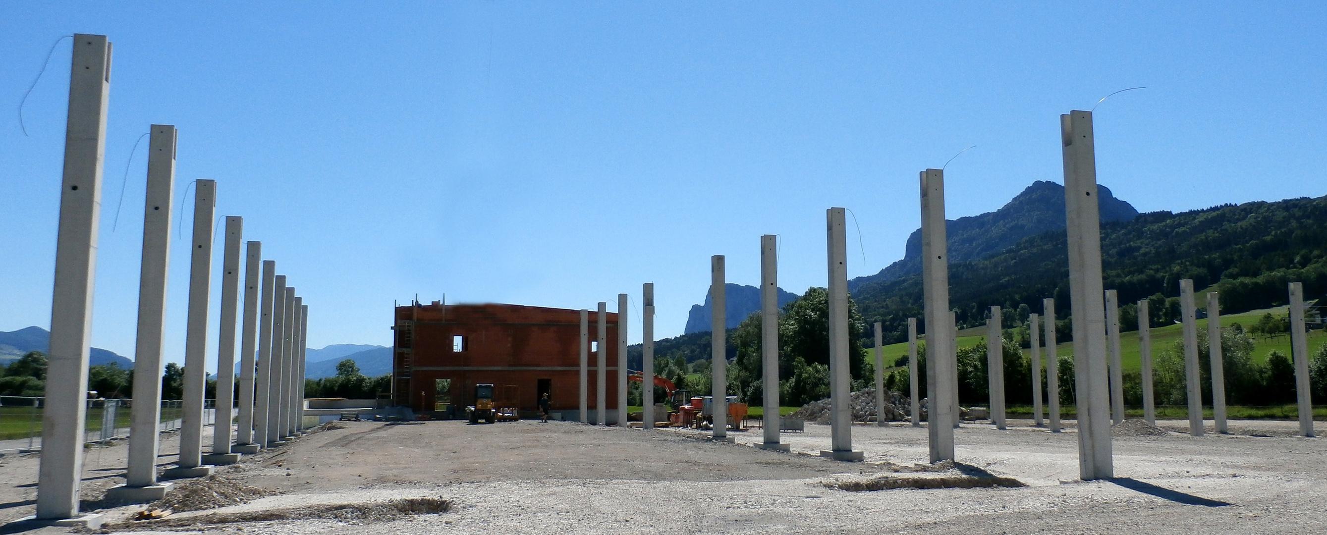 Säulenplantage