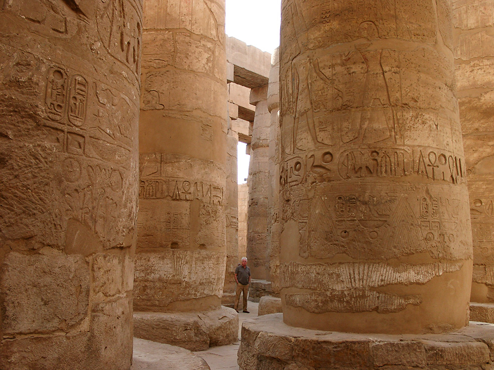 Säulensaal im Karnaktempel