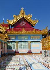 ...Sagaing - die Soon Oo Pon Nya Shin Pagode...