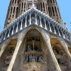 Sagrada Familia ( Detail-Ansicht )