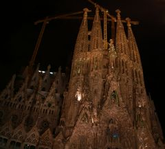 Sagrada Familia in Barcelona - die ewige Baustelle