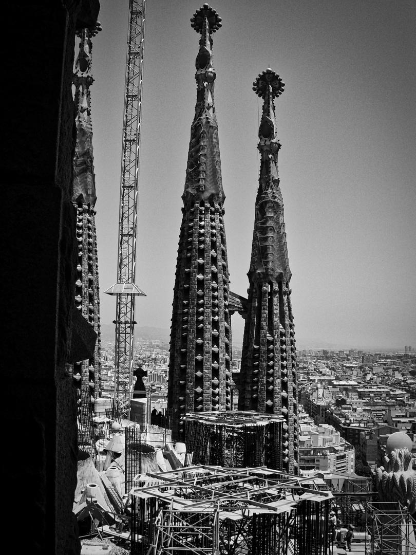 Sagrada Família, Juli 2007