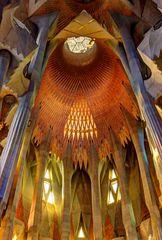 Sagrada - Innen-Detail