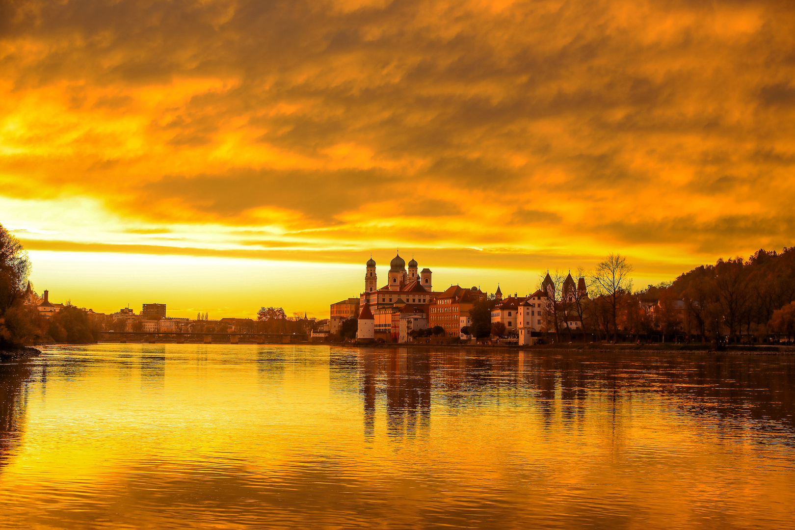 Sahara Luft in Passau
