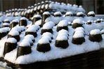 Sahne (Schnee) Häubchen Schokoküsse
