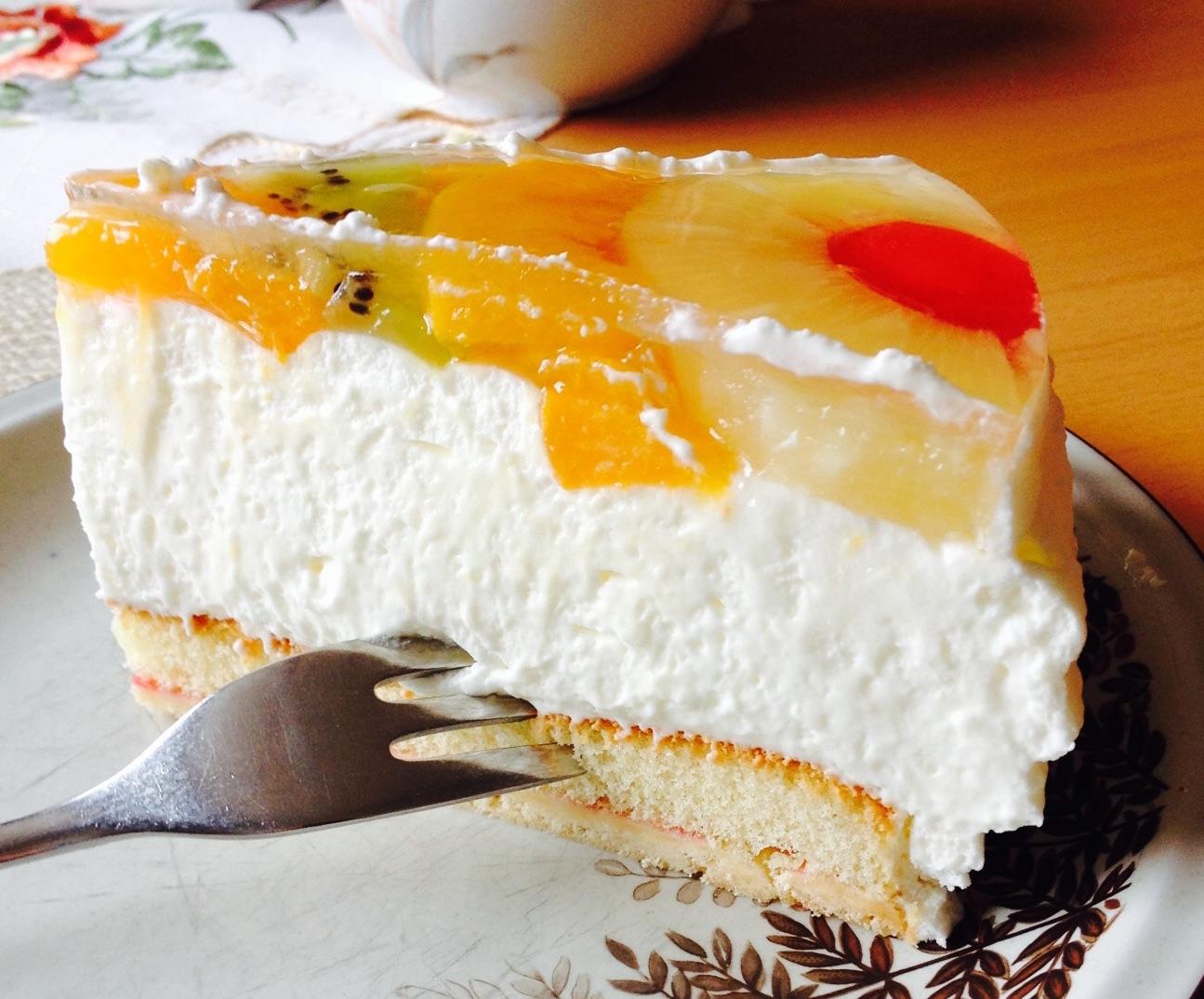 Sahnekuchen Foto Bild Stillleben Essen Trinken