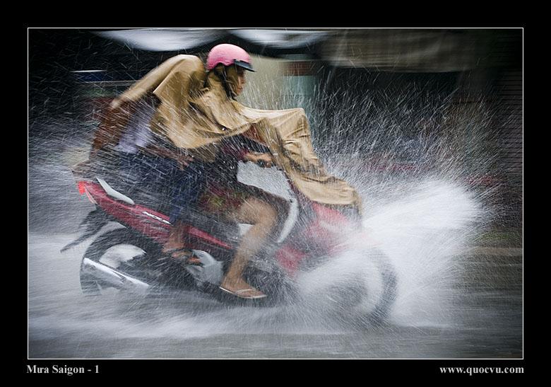 Saigon rain