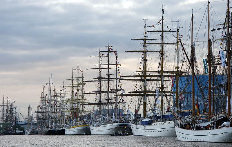 Sail 2005 - Hafenansicht