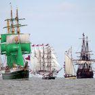 Sail 2015, Start Einlaufparade