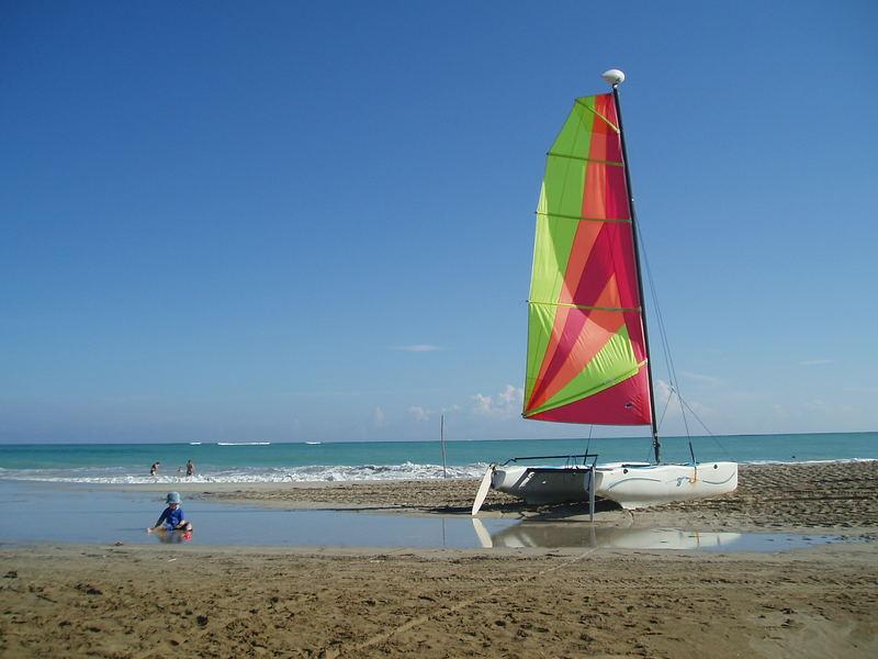 Sail on Cabarete Beach