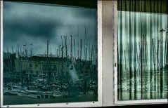 sailboats on the window