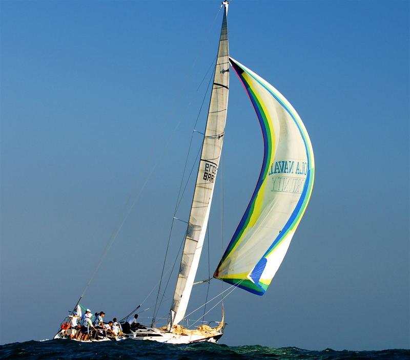 Sailing around Ilhabela island 2