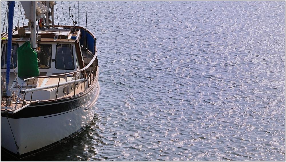 ... Sailing away ...