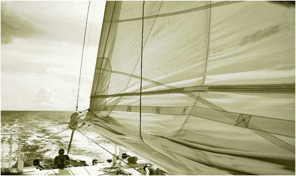 - Sailing By -
