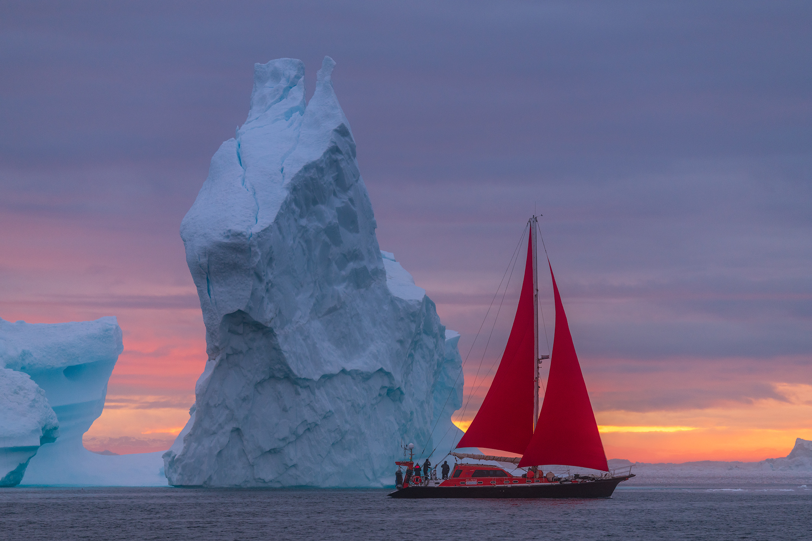 [ … sailing in greenland ]