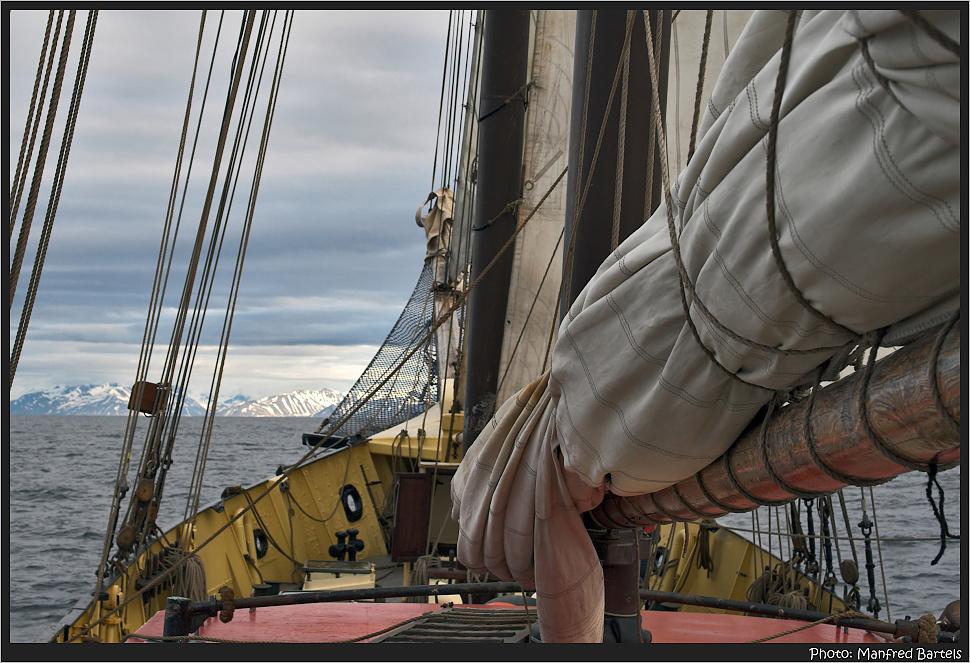 Sailing in the arctic...