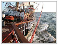 Sailing North...