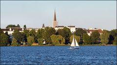 Sailing on Alster River
