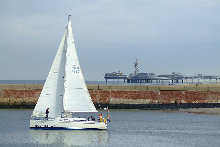 Sailing Scheveningen