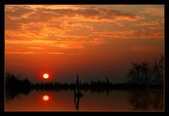 sailing to sunset