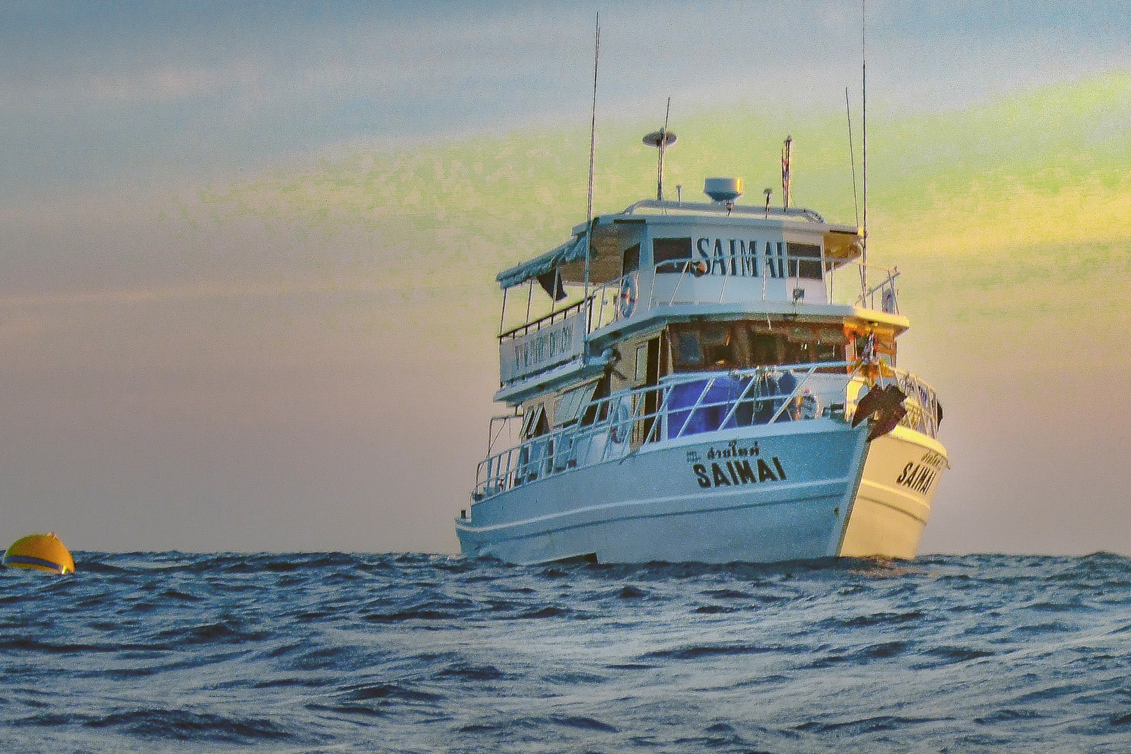 Saimai the boat for many tours