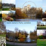 Saint James Park/ St. Jame's Park, London mit London Eye